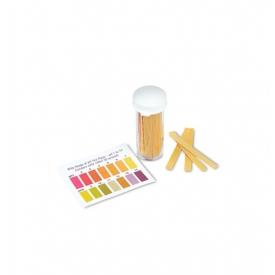 pH papier (100 stuks) voor zuurtegraadmetingen (uitlopend)