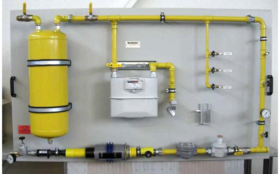 Model Gasaansluiting