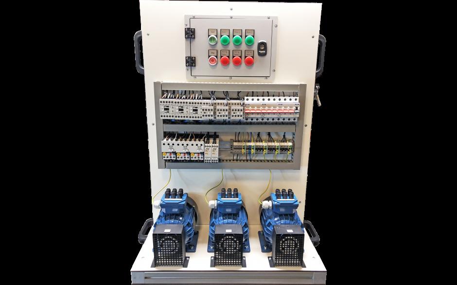Foutensimulator Draaistroommotor met Volgordeschakeling