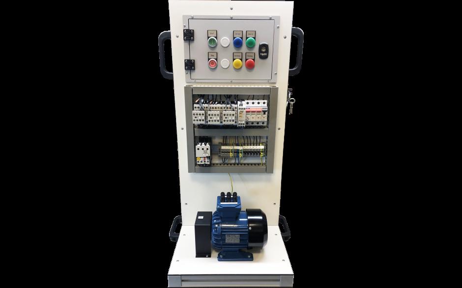 Foutensimulator Draaistroommotor met Ster-/driehoekschakeling