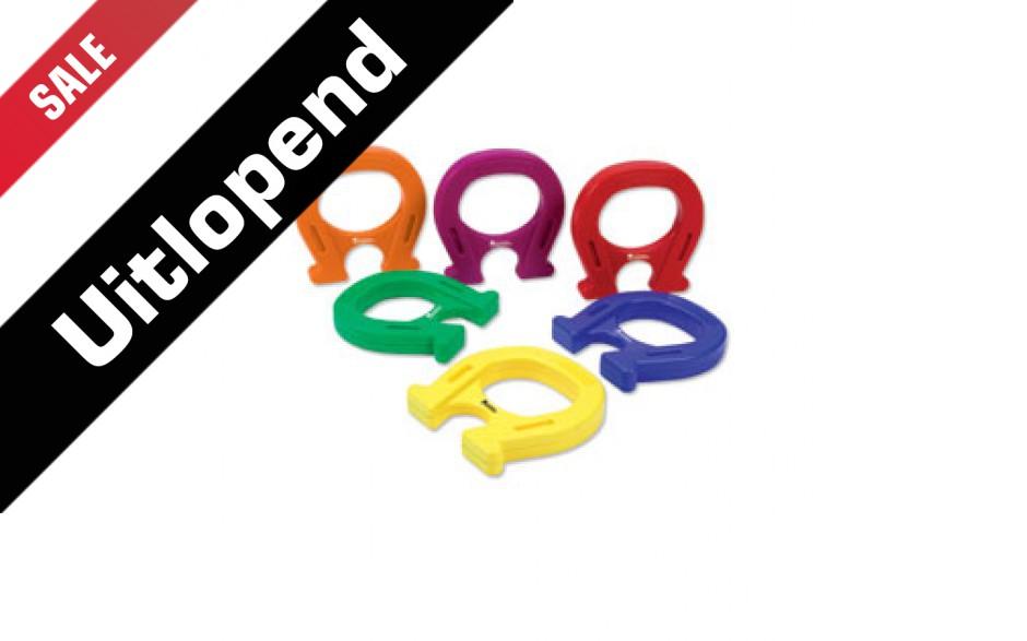 Set van 6 hoefijzermagneten