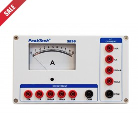 Peaktech 3295 Analoge Amperemeter - 0...1/10/100mA/1/10A AC/DC