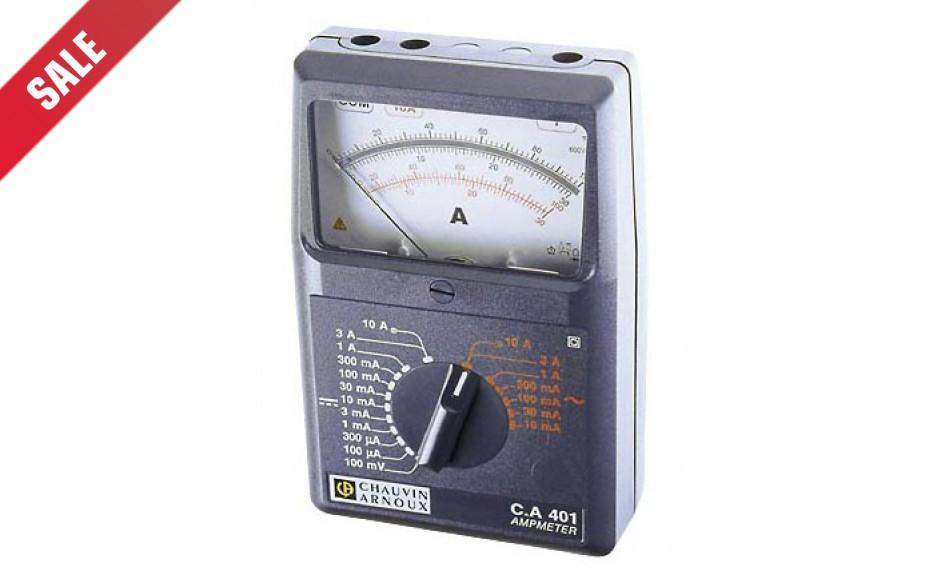 C.A 401 Analoge Ampèremeter