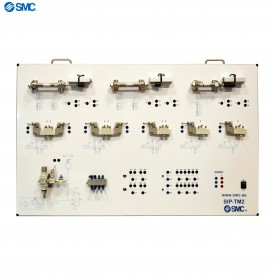 SIP-TM2 - Paneel met pneumatische en elektropneumatische componenten