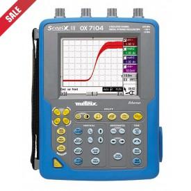 Metrix OX 7104-CSDK Digitale Oscilloscoop, 100 MHz, 4-kanaals