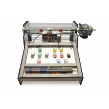 PLC Spindel trainer, met 18 inschakelbare storingen