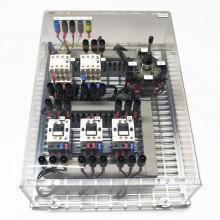 2 toeren elektromagnetisch, bediend d.m.v. joystick