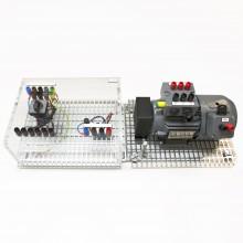 Draaistroommotor met rem