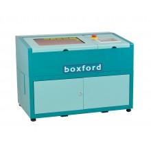 CO2 Lasermachine 40W, tafelmodel, werkoppervlak 200x300mm, handmatige focus instelling