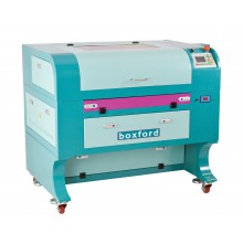 CO2 Lasermachine 80W, werkoppervlak 400x600mm, Automatische focus instelling