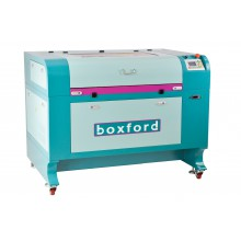 CO2 Lasermachine 80W, werkoppervlak 600x900mm, Automatische focus instelling