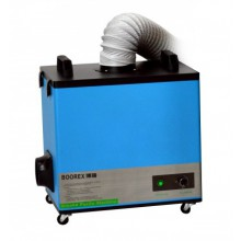 Afzuigunit met verwisselbare filters volgens de HEPA norm