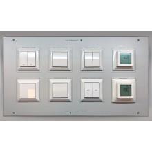 xComfort uitbreidingspaneel DIN A4 met drukknoppen & roomcontrollers