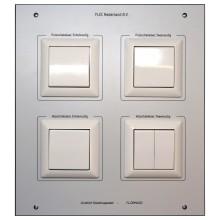 xComfort Schakelpaneel DIN A4, voorzien van schakelaars t.b.v. het xComfort Domotica paneel