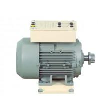 3-fasen A-synchrone kooianker motor