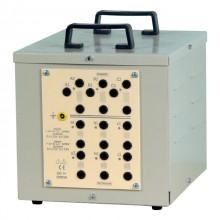 3-fasen transformer - 3000 VA - Zig-Zag type, P: 3 x 230 V / S: 6 x 115 V of 6 x 133 V