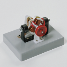Elektromotor op sokkel, magnetisch