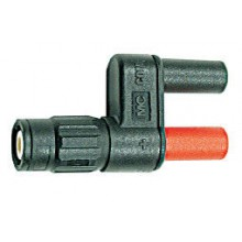 BNC male connector naar 4mm bus