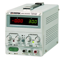 GW Instek GPS-3030DD Lineare DC voeding, 0-30V, 0-3A
