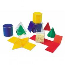 Geometrische vormen met uitvouwmodel