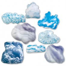 Opblaasbare wolkenset (uitlopend)