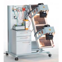Samenstelling Photovoltaik mobiele opstelling HERA