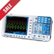 PeakTech 1240 Digitale Oscilloscoop, 60 MHz, 2-kanaals