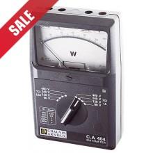 C.A 404 Analoge Wattmeter, 1-fase