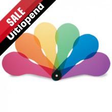 Kleurenpeddels, 6 kleuren